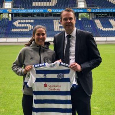 Welcome to Germany, Kristina Maksuti!
